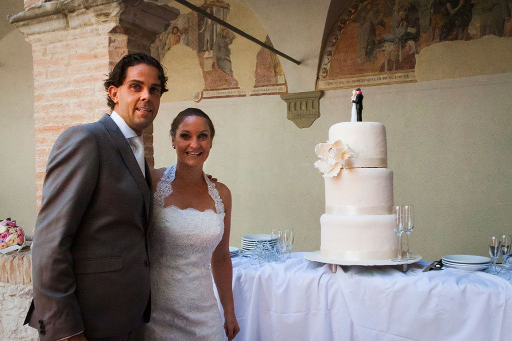 cake photo wedding in italy