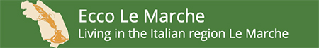 living in italy, in the le marche region